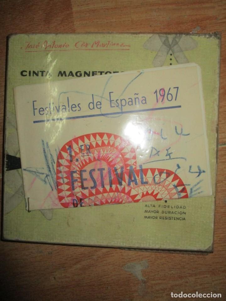 PINTURA ALICANTINA JOSE ANTONIO CIA CINTA AUDIO 1967 CON FOLLETO DIBUJOS EN FESTIVAL DE ALICANTE (Arte - Varios Objetos de Arte)