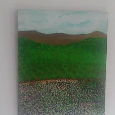 Varios objetos de Arte: MAR FLORIDO. ACRILICO. Lote 245917055