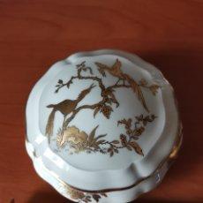 Varios objetos de Arte: CAJAS/JOYEROS PORCELANA DE LIMOGES. Lote 247416300