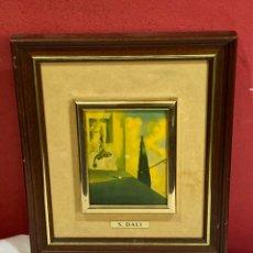 Varios objetos de Arte: SALVADOR DALI - ESMALTE SOBRE METAL - VER FOTOS. Lote 248499535