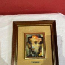 Varios objetos de Arte: SALVADOR DALI - ESMALTE SOBRE METAL - VER FOTOS. Lote 248499725