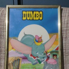 Art: CUADRO ENMARCADO DUMBO (DISNEY). Lote 248609590