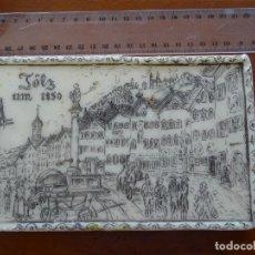 Varios objetos de Arte: TÖLZ, ALEMANIA, 1850, TRABAJO EN CERA. Lote 249282040