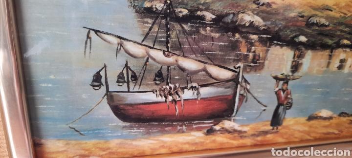 Varios objetos de Arte: Cuadro M. Delgado, Manuel Delgado ?. Ver fotos. - Foto 7 - 253244410