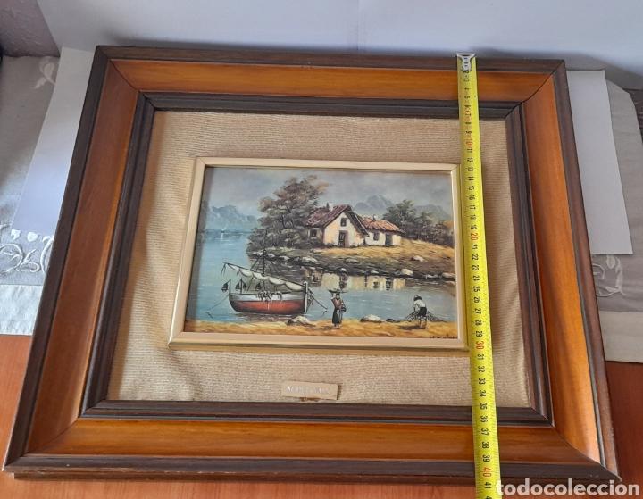Varios objetos de Arte: Cuadro M. Delgado, Manuel Delgado ?. Ver fotos. - Foto 14 - 253244410