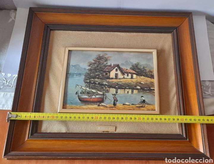 Varios objetos de Arte: Cuadro M. Delgado, Manuel Delgado ?. Ver fotos. - Foto 15 - 253244410