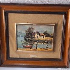 Varios objetos de Arte: CUADRO M. DELGADO, MANUEL DELGADO ?. VER FOTOS.. Lote 253244410