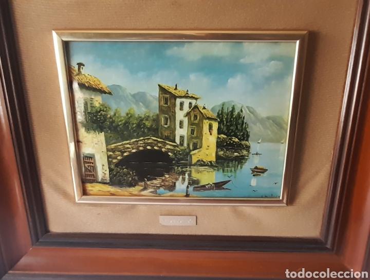 Varios objetos de Arte: Cuadro M. Delgado, Manuel Delgado ?. Ver fotos. - Foto 2 - 253245240