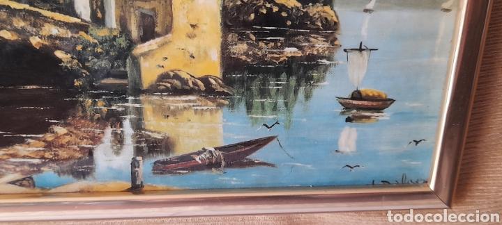 Varios objetos de Arte: Cuadro M. Delgado, Manuel Delgado ?. Ver fotos. - Foto 5 - 253245240
