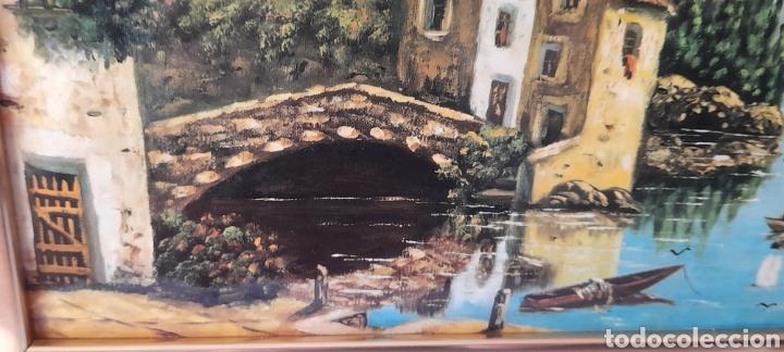 Varios objetos de Arte: Cuadro M. Delgado, Manuel Delgado ?. Ver fotos. - Foto 7 - 253245240