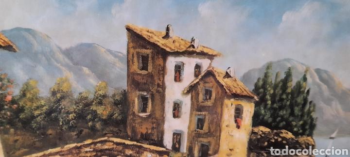 Varios objetos de Arte: Cuadro M. Delgado, Manuel Delgado ?. Ver fotos. - Foto 8 - 253245240