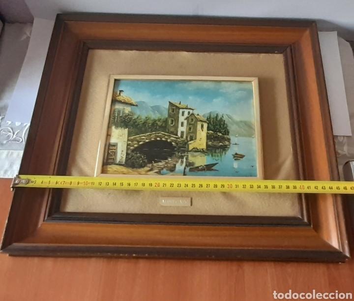 Varios objetos de Arte: Cuadro M. Delgado, Manuel Delgado ?. Ver fotos. - Foto 11 - 253245240