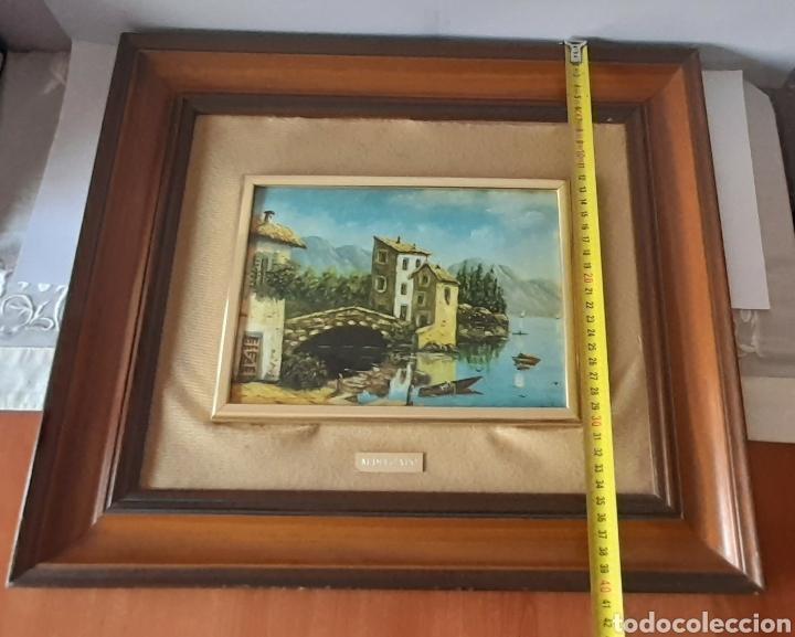 Varios objetos de Arte: Cuadro M. Delgado, Manuel Delgado ?. Ver fotos. - Foto 12 - 253245240