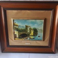 Varios objetos de Arte: CUADRO M. DELGADO, MANUEL DELGADO ?. VER FOTOS.. Lote 253245240