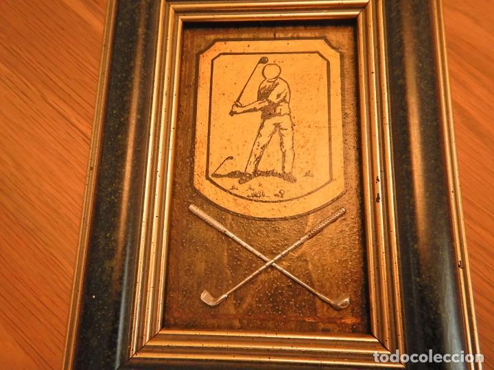 Varios objetos de Arte: Cuadro de golf plata - Foto 2 - 253431545