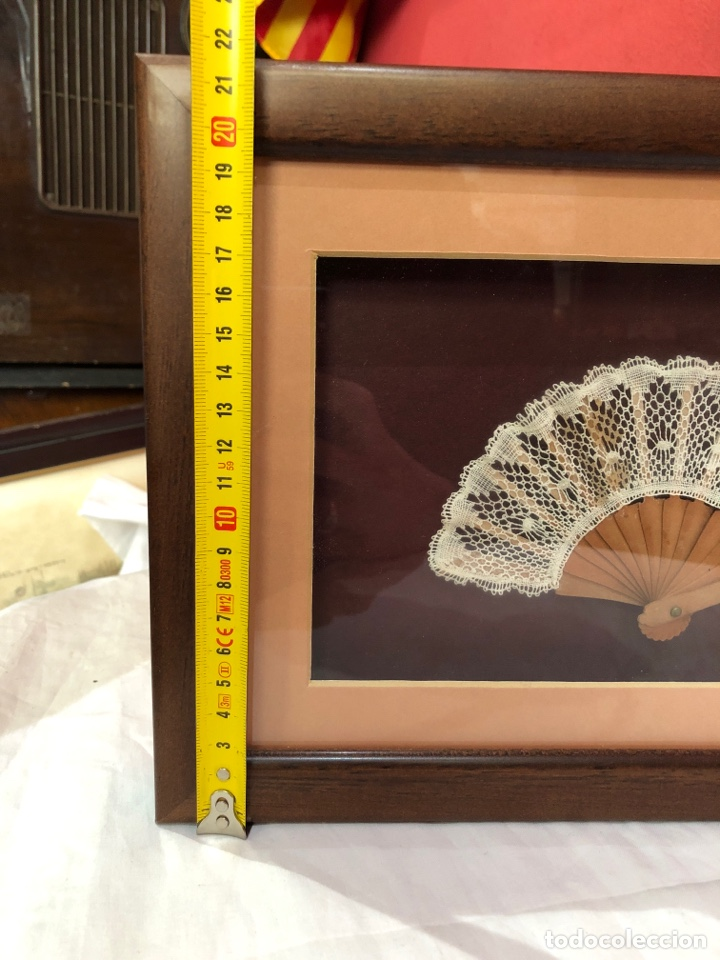 Varios objetos de Arte: Cuadro con abanico en su interior - Foto 4 - 253507545