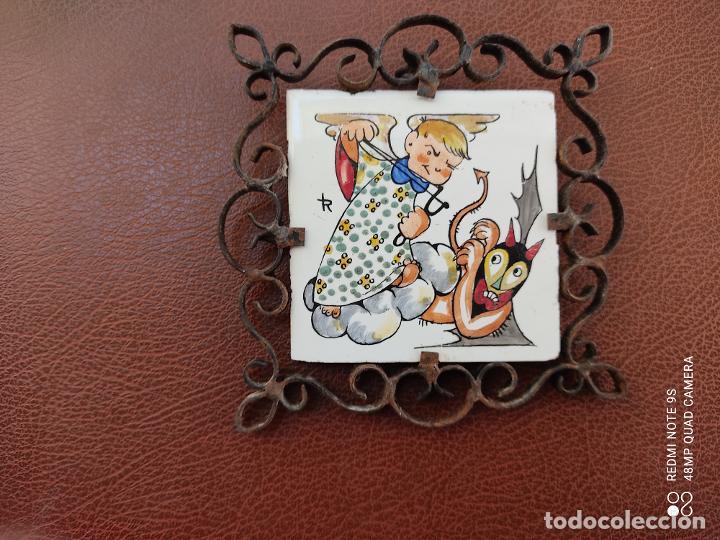 Varios objetos de Arte: azulejo pintado a mano Honda - Foto 2 - 253539515