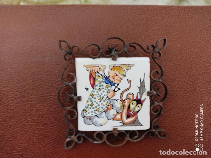 Varios objetos de Arte: azulejo pintado a mano Honda - Foto 3 - 253539515