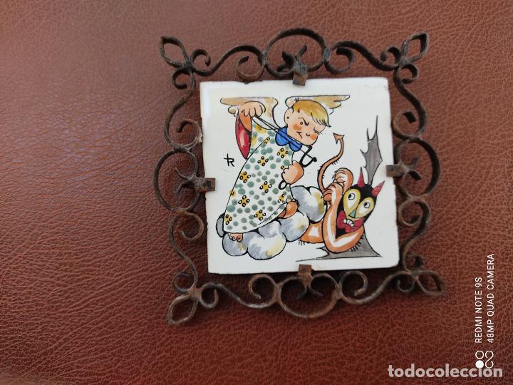 Varios objetos de Arte: azulejo pintado a mano Honda - Foto 5 - 253539515