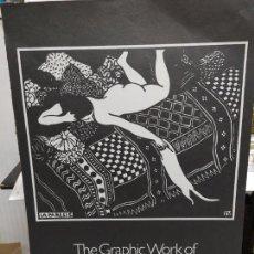 Varios objetos de Arte: LAMINA DE EXPOSICION ITINERANTE DE THE GRAPHIC WORK OF FELIX VALLOTTON 1865-1925 PINTOR SUIZO NABIS. Lote 108405747