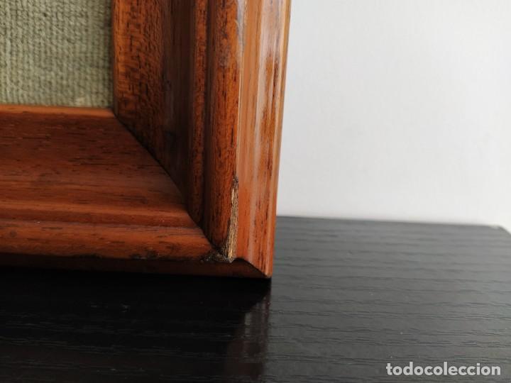 Varios objetos de Arte: CUADRO ESMALTADO VAN GOGH / LOS GIRASOLES. MARCO DE MADERA MIDE 39 CM x 44,5 CM - Foto 9 - 254003055