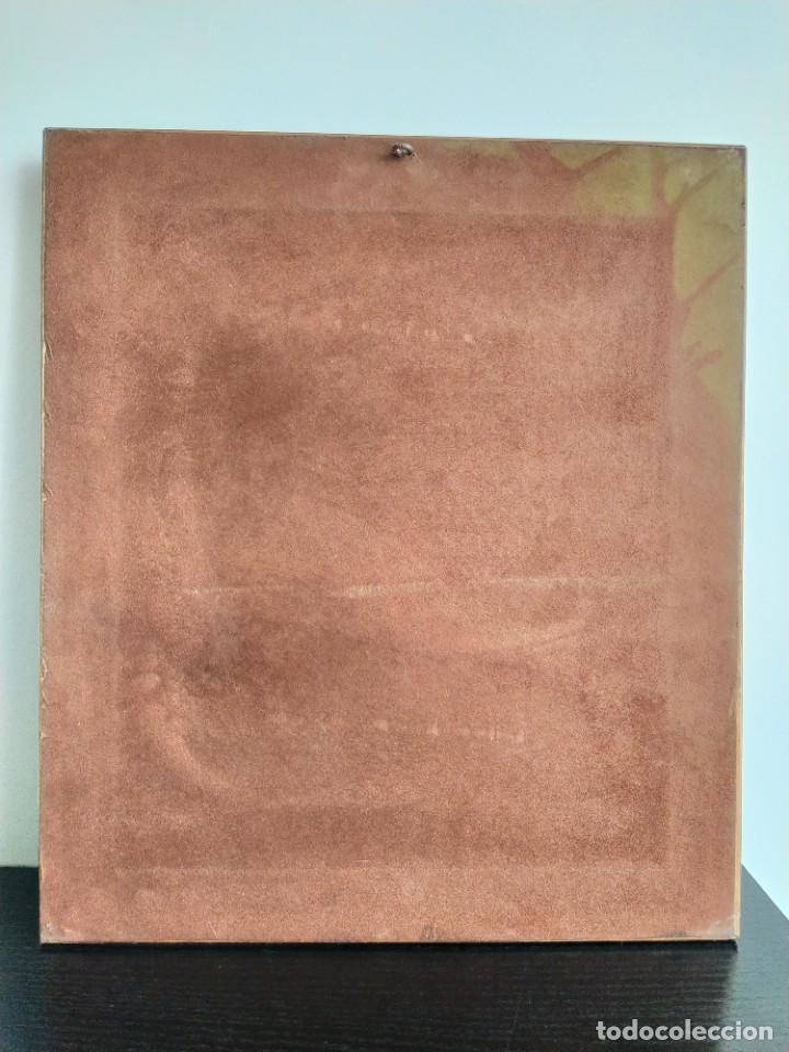 Varios objetos de Arte: CUADRO ESMALTADO VAN GOGH / LOS GIRASOLES. MARCO DE MADERA MIDE 39 CM x 44,5 CM - Foto 21 - 254003055