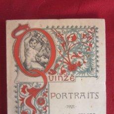 Varios objetos de Arte: MARIA DE CARDONA. QUINZE PORTRAITS PAR MARIA DE CARDONA. ED.FRED BOISSONNAS GENEVE 1918. Lote 254054115