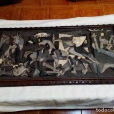Varios objetos de Arte: CUADRO GUERNICA - GERNIKA FIRMADO POR H. EPELDE (HILARIO EPELDE - ZARAUZ / ZARAUTZ - EUSKADI). Lote 254310810