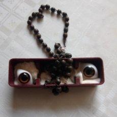 Varios objetos de Arte: ROSARIO ANTIGUO CON OJOS. Lote 254760920