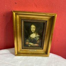 Varios objetos de Arte: LA GIOCONDA. Lote 255345000