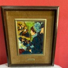 Varios objetos de Arte: CUADRO RENOIR ESMALTE AL FUEGO. Lote 255346965