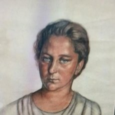 Varios objetos de Arte: AURELIO ARTETA BILBAO1.879-MEXICO1.940 (RETRATO DE SU 2ª ESPOSA). Lote 255655770