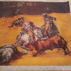 Varios objetos de Arte: GOYA - ESCENA DE TOROS 《 LIENZO SOBRE TELA 》. Lote 256071925