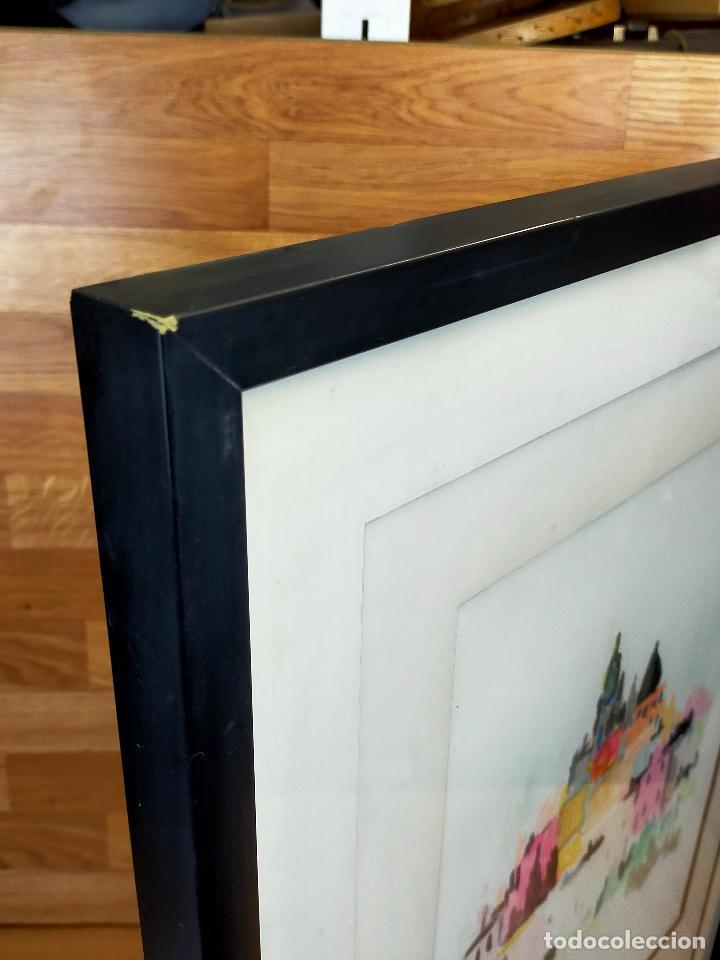 Varios objetos de Arte: CUADRO acuarela firmada sandoval 50 X 74 CM - Foto 4 - 256170160