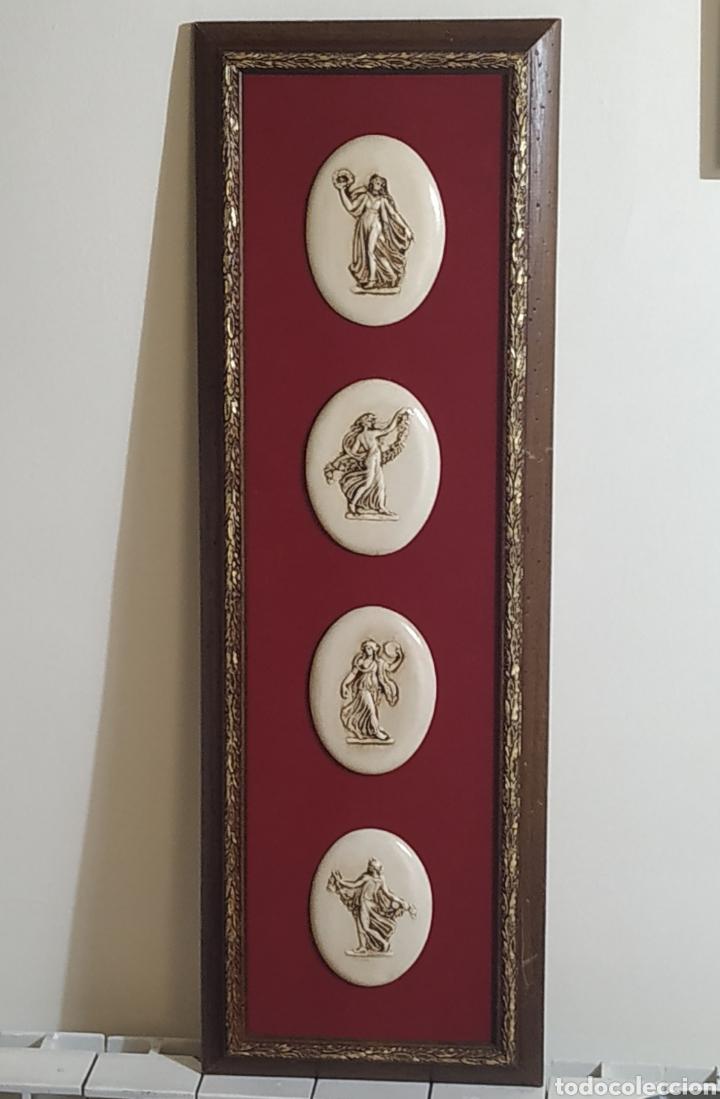 Varios objetos de Arte: Cuadro,Art Noveau - Foto 2 - 258135805