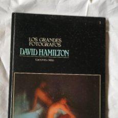 Varios objetos de Arte: LOS GRANDES FOTOGRAFOS DAVID HAMILTON EDICIONES ORBIS - 63 PAGINAS - MEDIDAS 30X22CM. Lote 258213115