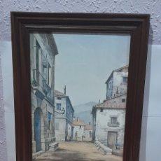 Varios objetos de Arte: CUADRO ANTIGUO DE 48 X 37 CM. VER FOTOS.. Lote 258783885