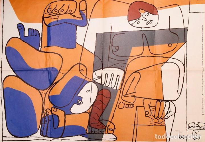 LE CORBUSIER - CARTEL - 1960 (Arte - Varios Objetos de Arte)