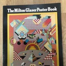 Varios objetos de Arte: THE MILTON GLASER POSTER BOOK.. Lote 260604720