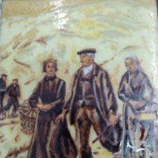 Varios objetos de Arte: ANTIGUO CUADRO ESMALTE CERAMICO ALBERTO ARRUE ( 1878-1944) ESMALTADO PAIS VASCO EUSKADI BASQUE. Lote 261251360