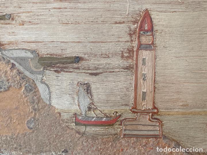 Varios objetos de Arte: BATERÍA MILITAR CABO SILLEIRO , 1920 APROX. MONTES DE BAREDO , BAIONA , ACORAZADO ESPAÑA - Foto 4 - 261272595