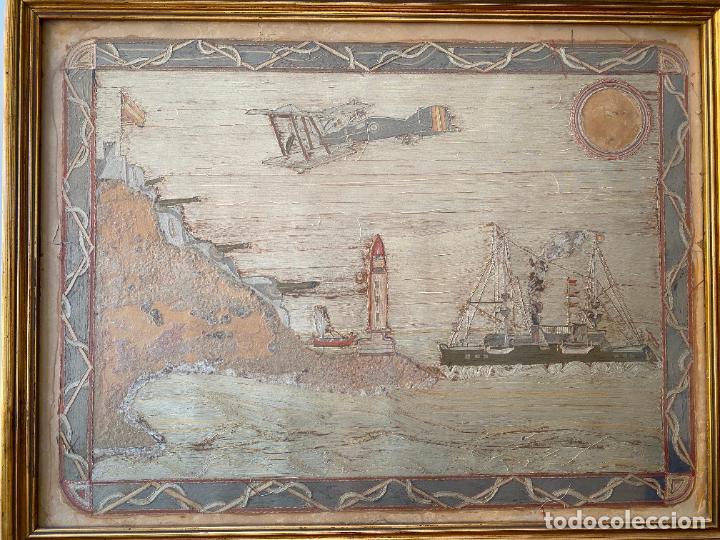 Varios objetos de Arte: BATERÍA MILITAR CABO SILLEIRO , 1920 APROX. MONTES DE BAREDO , BAIONA , ACORAZADO ESPAÑA - Foto 6 - 261272595