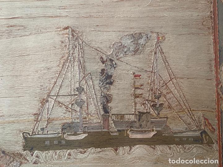 Varios objetos de Arte: BATERÍA MILITAR CABO SILLEIRO , 1920 APROX. MONTES DE BAREDO , BAIONA , ACORAZADO ESPAÑA - Foto 9 - 261272595