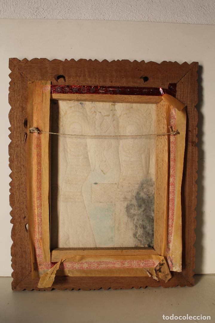 Varios objetos de Arte: cuadro esmaltes sobre lienzo y madera - Foto 2 - 262836035