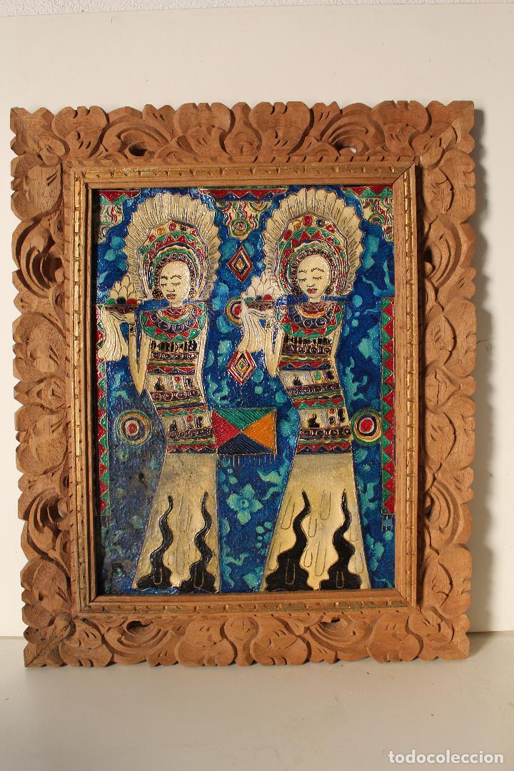 Varios objetos de Arte: cuadro esmaltes sobre lienzo y madera - Foto 3 - 262836035