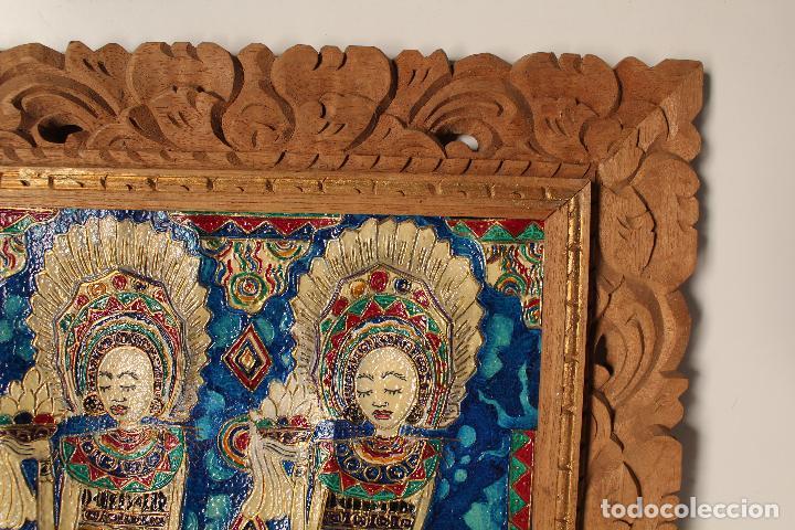Varios objetos de Arte: cuadro esmaltes sobre lienzo y madera - Foto 4 - 262836035