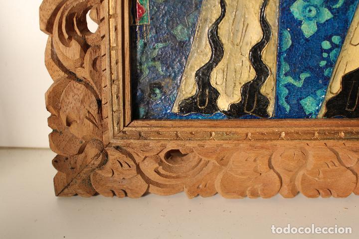 Varios objetos de Arte: cuadro esmaltes sobre lienzo y madera - Foto 6 - 262836035