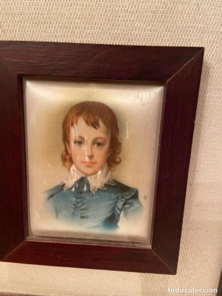 Varios objetos de Arte: Cuadro pintado en seda - Foto 2 - 264467354