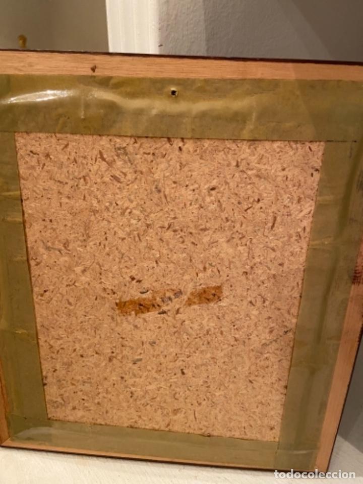 Varios objetos de Arte: Cuadro pintado en seda - Foto 3 - 264467354