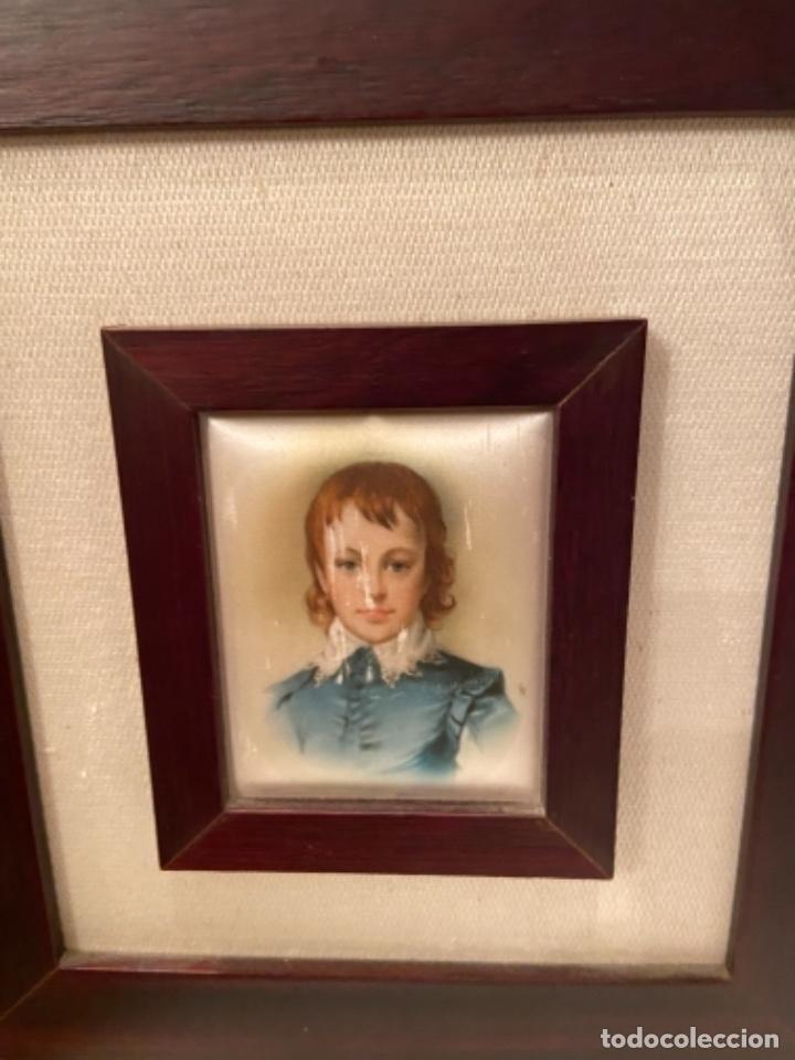 Varios objetos de Arte: Cuadro pintado en seda - Foto 4 - 264467354